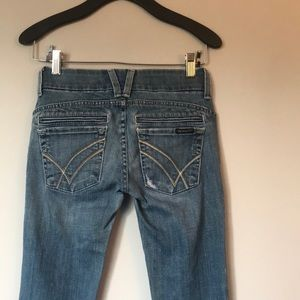 William Rast Straight Leg Denim